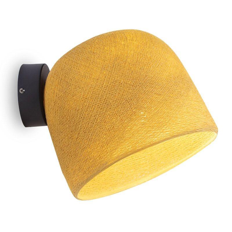 Applique Cloche moutarde
