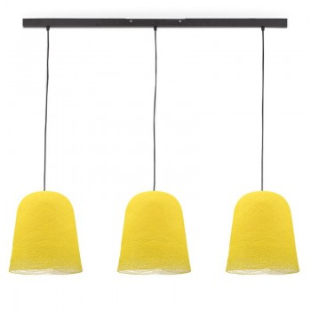 Rail gris anthracite 3 jupes jaune - Luminaire sur rail - La Case de Cousin Paul