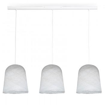 Rail blanc 3 jupes blanc - Luminaire sur rail - La Case de Cousin Paul