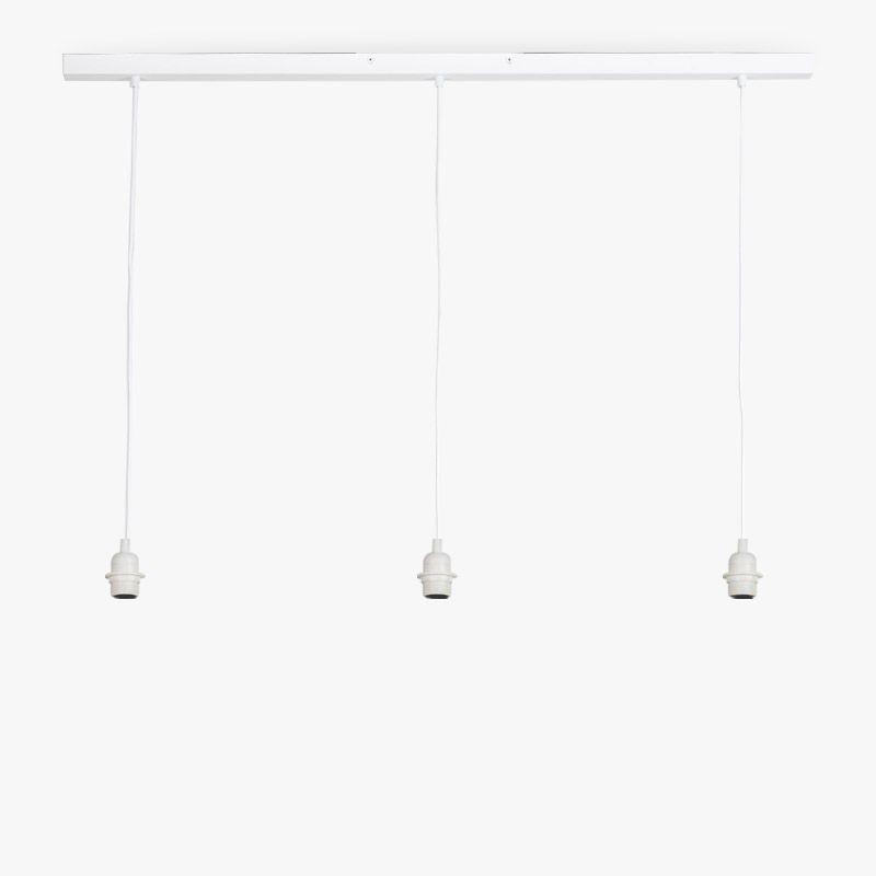 """Rail"" blanca mate - Accesorios para lamparas - La Case de Cousin Paul"