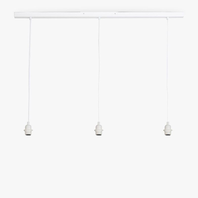 """Rail"" matte witte - Accessoires voor verlichting - La Case de Cousin Paul"