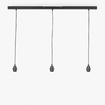 Rail gris anthracite mat - Accessoires luminaires - La Case de Cousin Paul