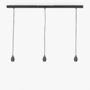 """""""Rail"""" mat antraciet - Accessoires voor verlichting - La Case de Cousin Paul"""
