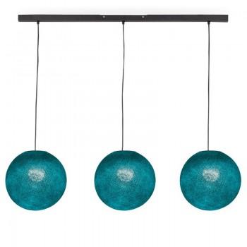 Rail gris anthracite 3 globes S canard - Luminaire sur rail - La Case de Cousin Paul