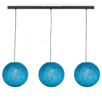 Rail gris anthracite 3 globes S Denim - Luminaire sur rail - La Case de Cousin Paul