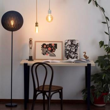 """Vloerlamp """"Art Deco"""" inkt - Vloerlamp - La Case de Cousin Paul"""