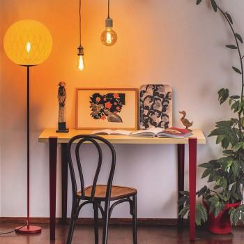 """Vloerlamp """"Art Deco"""" ivoor - Vloerlamp - La Case de Cousin Paul"""