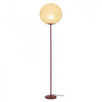 """Lampada da terra """"Art deco"""" terracotta - Lampada da terra - La Case de Cousin Paul"""