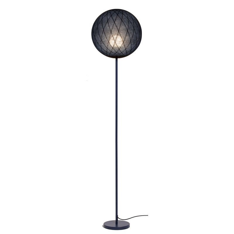 Art Deco floor lamp ink - Floor lamp - La Case de Cousin Paul