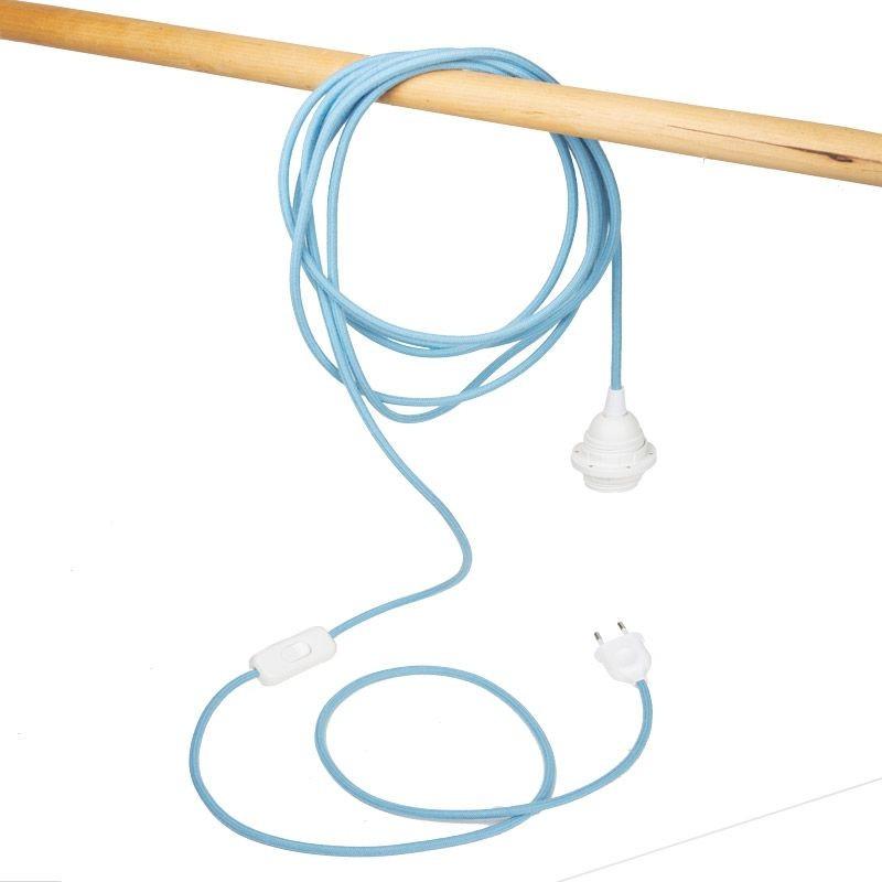 Mobile hanging fixture denim - Lights accessories - La Case de Cousin Paul