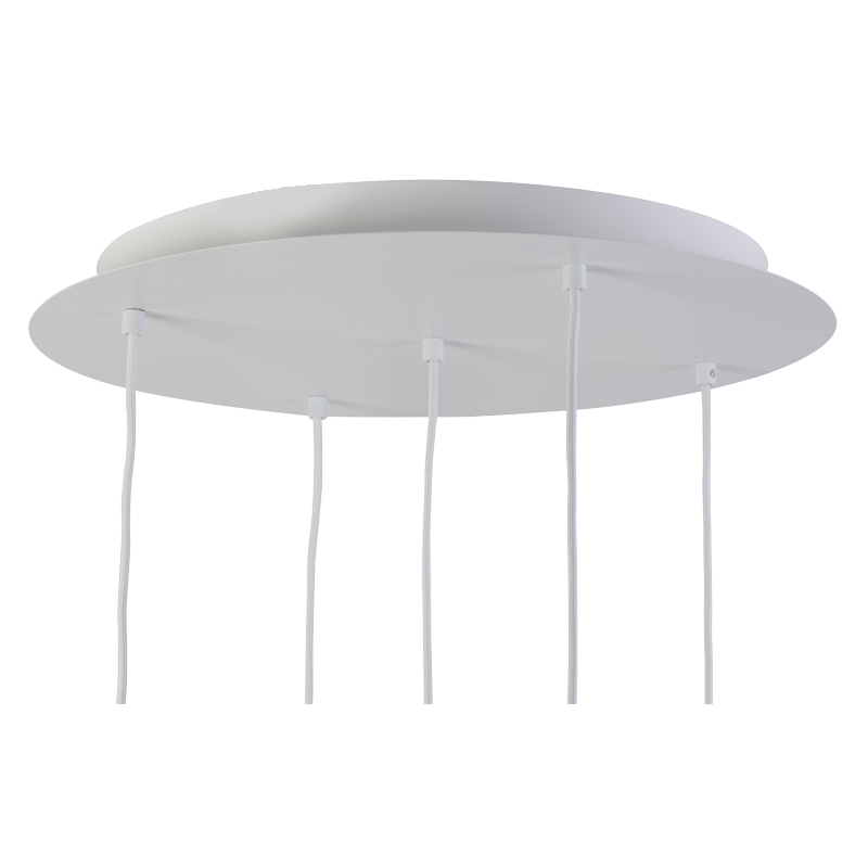 Ceiling fixture 5 matte white - Lights accessories - La Case de Cousin Paul