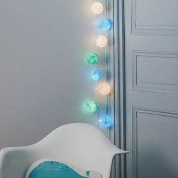 Guirlande LED 20 boules - Morgane - Suggestions Premium - La Case de Cousin Paul
