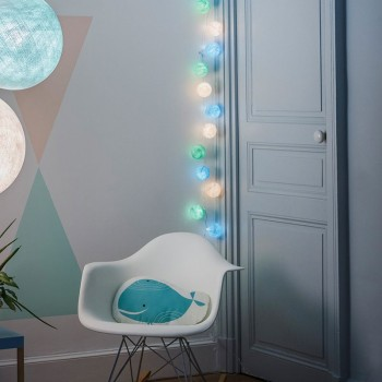 Guirlande LED 35 boules - Morgane - Suggestions Premium - La Case de Cousin Paul