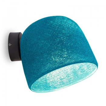 Applique Cloche Turquoise - Applique murale - La Case de Cousin Paul