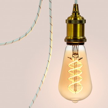 Mobile hanging fixture Retro - Mobile Light fixture - La Case de Cousin Paul
