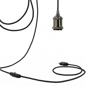 Mobile hanging fixture Berliner black - Mobile Light fixture - La Case de Cousin Paul