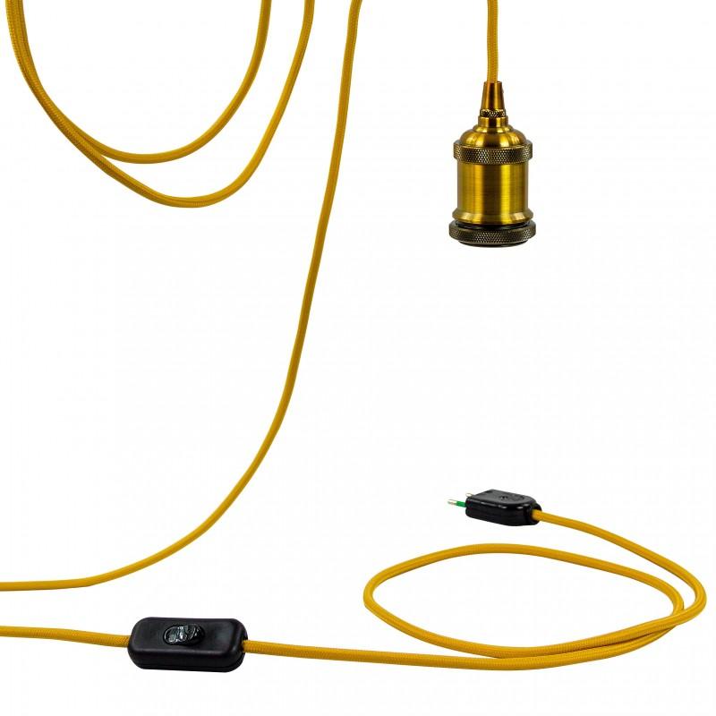 Mobile hanging fixture Berliner gold - Mobile Light fixture - La Case de Cousin Paul