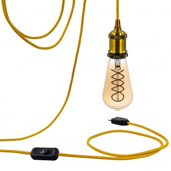 Mobile hanging fixture Berliner gold - Mobile Light fixture - La Case de Cousin Paul