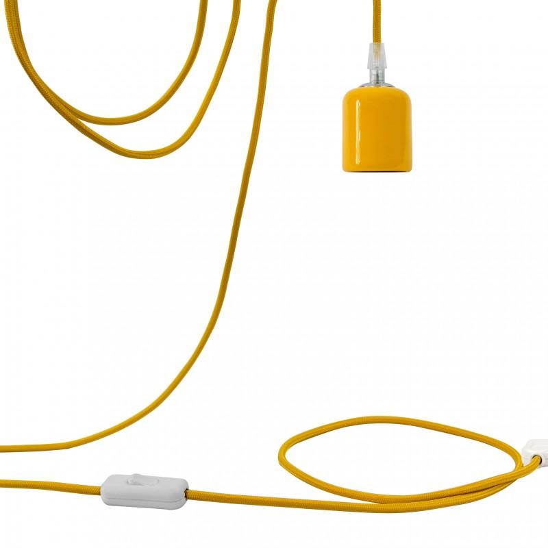 Nomadenaufhängung Liberty gelb - Aufhangung Nomade - La Case de Cousin Paul