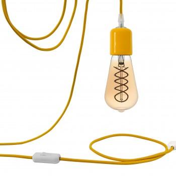 Attacco a sospensione mobile Liberty giallo - Suspension nomade - La Case de Cousin Paul