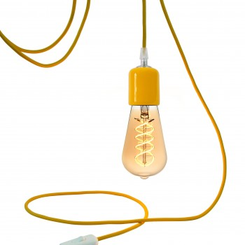 Mobile hanging fixture Liberty yellow - Mobile Light fixture - La Case de Cousin Paul