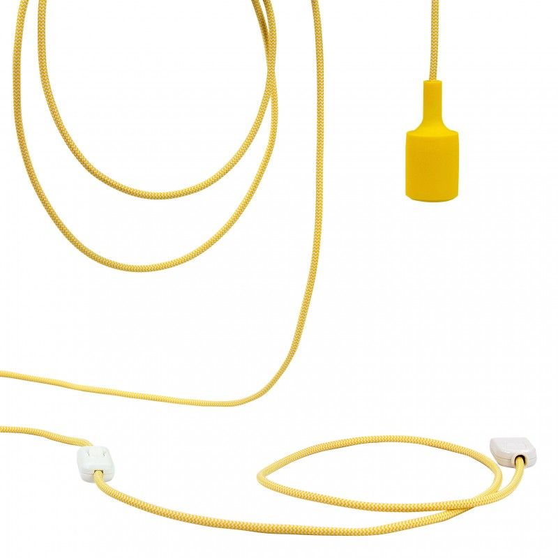 Mobile hanging fixture Bouton d'or - Mobile Light fixture - La Case de Cousin Paul