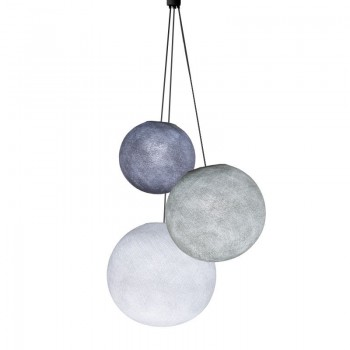 Triple lighting lilac - pearl - white - Triple lighting - La Case de Cousin Paul