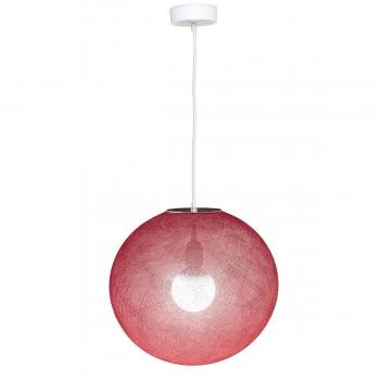 Globus Light Rubinrot Ø 36cm - Lampenschirm Globus light - La Case de Cousin Paul