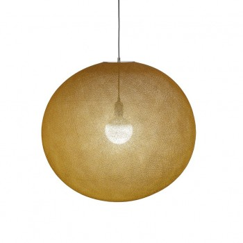 Globe Light XXL Tabac Ø 67cm - Abat-jour globe light - La Case de Cousin Paul