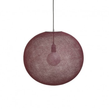 Globe Light XL Terracotta Ø 50cm - Abat-jour globe light - La Case de Cousin Paul