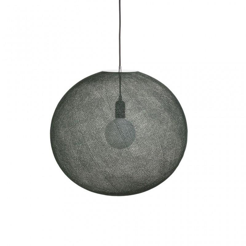 Globe Light XL Vert impérial Ø 50cm - Collection light - La Case de Cousin Paul