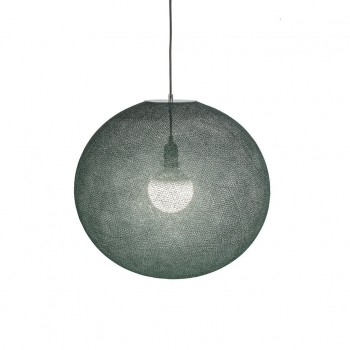 Globus Light XL Kaiserliches Grün Ø 50cm - Lampenschirm globus light - La Case de Cousin Paul