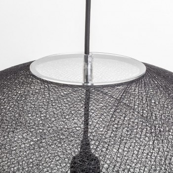 Globe Light XL Anthracite Ø 50cm - Lampshades globe light - La Case de Cousin Paul