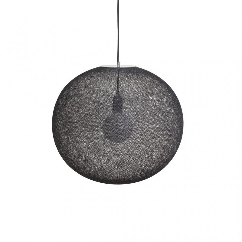 Globe Light XL Anthracite Ø 50cm - Abat-jour globe light - La Case de Cousin Paul