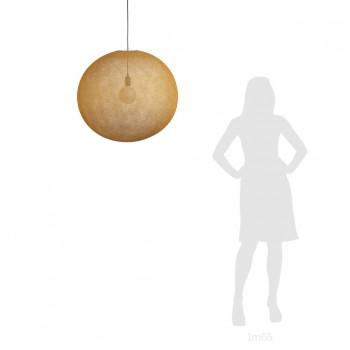 Ballampen Light XXL Tabac Ø 67cm - Lampenkappen Los ballampen light - La Case de Cousin Paul