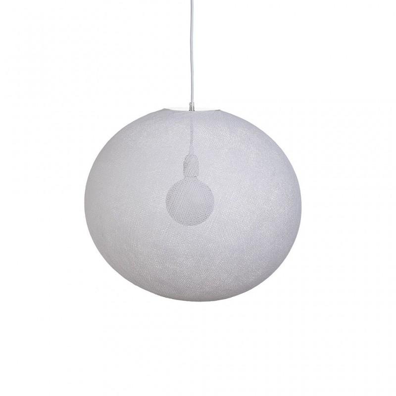 Globe Light XL Blanc Ø 50cm - Abat-jour globe light - La Case de Cousin Paul