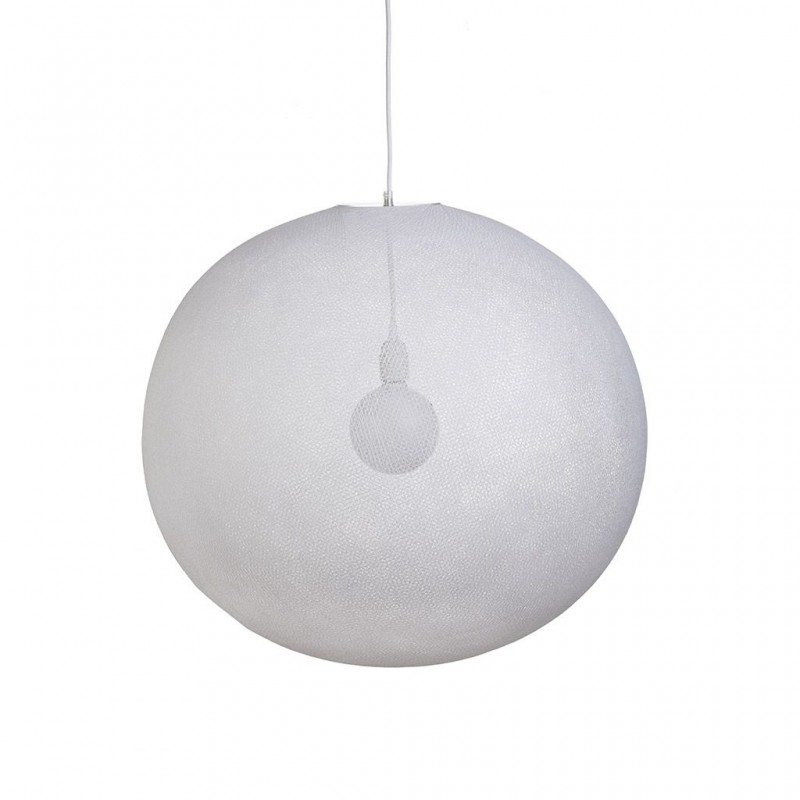 Globus Light XXL weiβ Ø 67cm - Lampenschirm Globus light - La Case de Cousin Paul