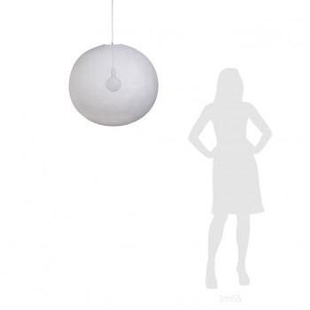 Globe Light XXL White Ø 67cm - LIGHT Collection - La Case de Cousin Paul