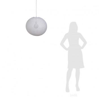 Globe Light XL White Ø 50cm - Lampshades globe light - La Case de Cousin Paul