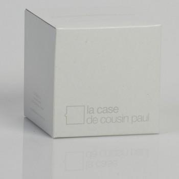 enkelvoudig ophangsysteem van wit geweven grijze - Accessoires voor verlichting - La Case de Cousin Paul