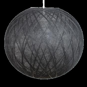 Globe Art déco noir - Abat-jour Art Déco - La Case de Cousin Paul