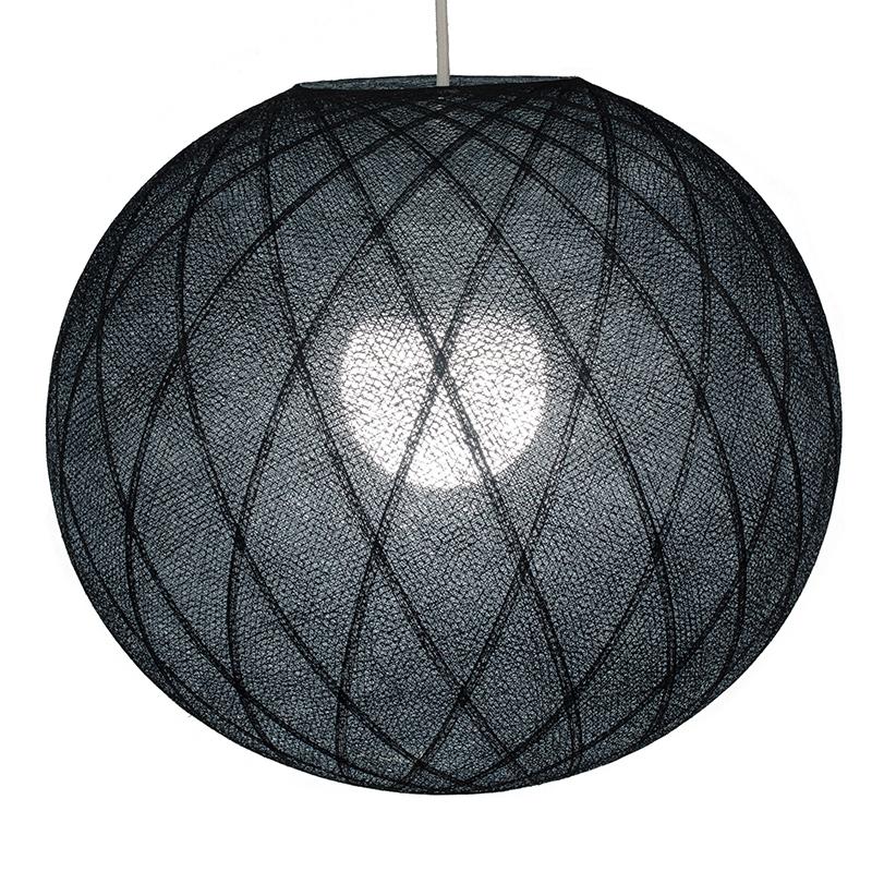 Lampenschirme Einzeln Art Déco Schwarz - Lampenschirm Art Déco - La Case de Cousin Paul