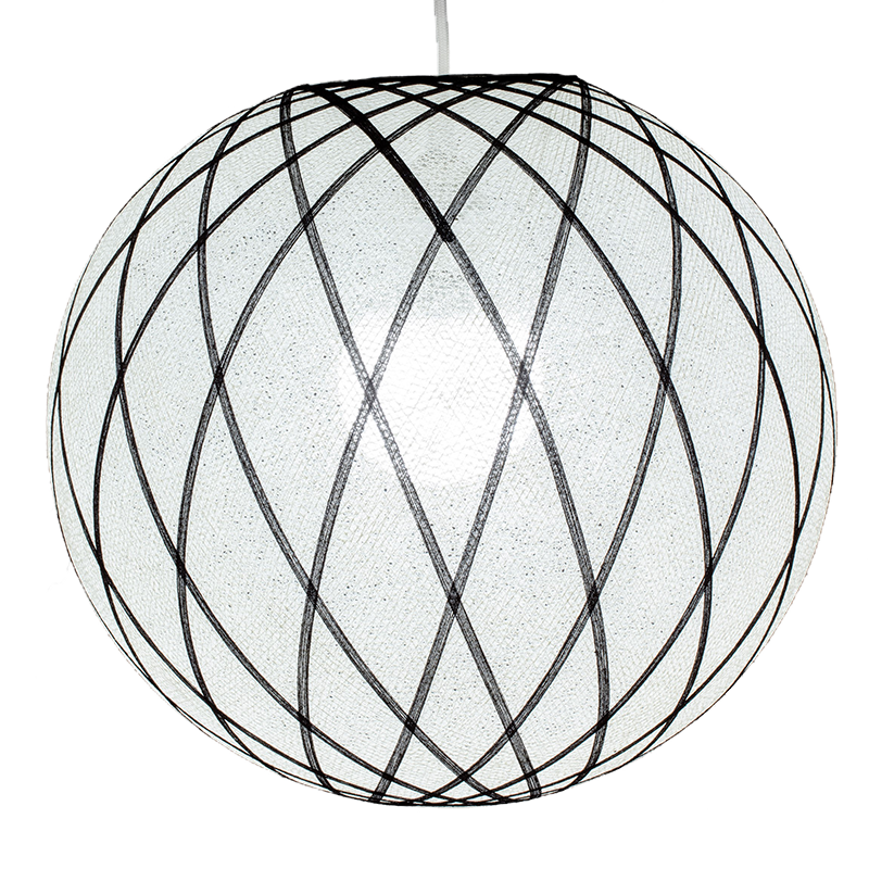 Art déco White & Black - Lampshades Only Art déco - La Case de Cousin Paul