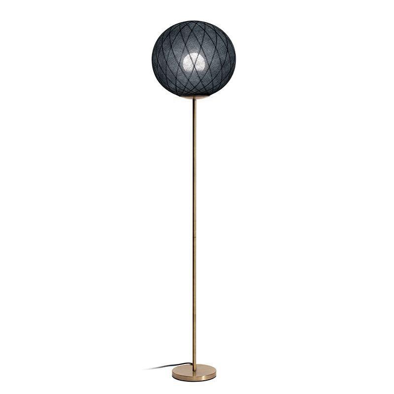 """Lampada da terra """"Art deco"""" nero - lampada da terra - La Case de Cousin Paul"""