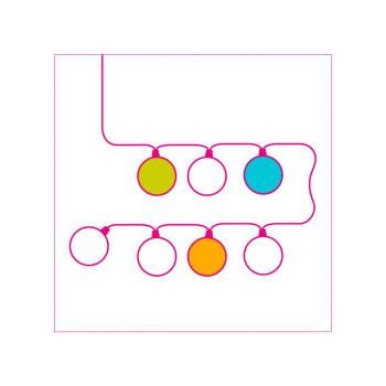 Veilleuse bébé 16 boules - Configurateur - La Case de Cousin Paul