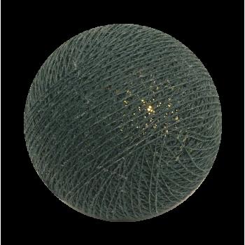 boule pour guirlande veilleuse vert impérial - Boules veilleuses bébé - La Case de Cousin Paul