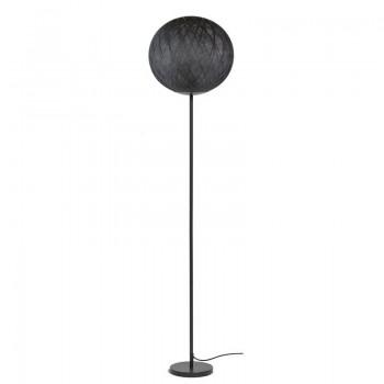 Art Deco floor lamp black / black - Floor lamp - La Case de Cousin Paul
