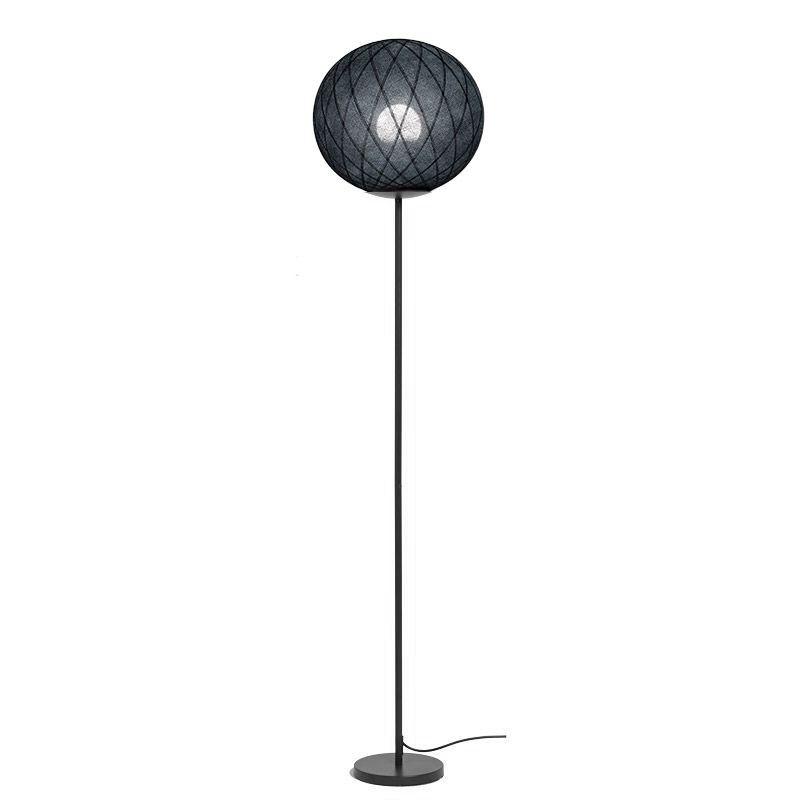 "Lámpara de pie ""Art Deco"" negro / negro - Lámpara de pie - La Case de Cousin Paul"