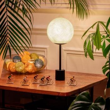 Lampe APAPA - Marfil - Lámpara Apapa - La Case de Cousin Paul
