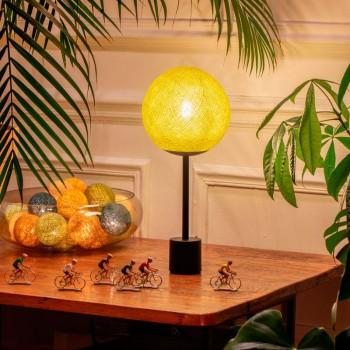 Lampe APAPA - Mimosa - Lámpara Apapa - La Case de Cousin Paul